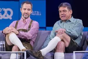 Florian Reuter und Dr. Carsten Breitfeld beim Interview