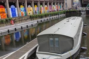 Flussboot an der Themse
