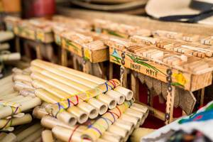 Flutes and marimbas: typical guatemalan instruments