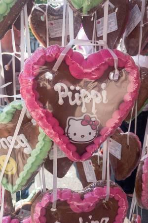 Fondant-Torteletten mit Hello Kitty und Emoticons - Straßenfest, Köln