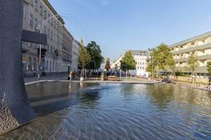 Fontäne am Kardinal-Rauscher-Platz in Wien