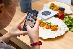 Foodstagram: Essensfoto mit Handykamera machen