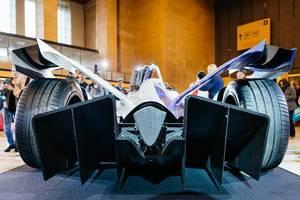 Formula E gen 2 car rear diffuser view