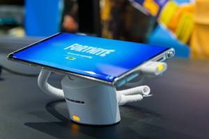 Fortnite Mobile von Epic Games, auf dem Smartphone