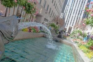 Fountains of Rockefeller Garden