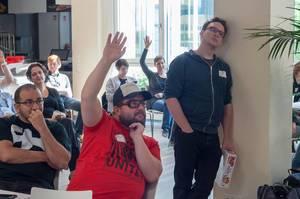 Fragerunde beim Barcamp Köln 2018