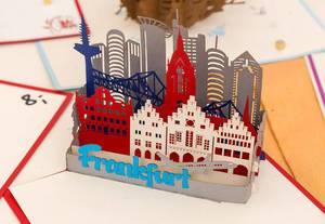 Frankfurt als Popup-Card
