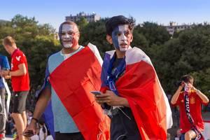 Französische Fans / French Supporters
