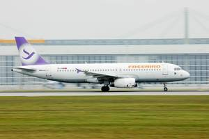Freebird Airlines Airbus A320, TC-FHM in Munich Airport