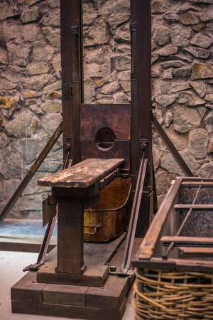 French Guillotine used in the Vietnam War