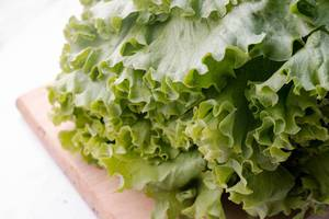 Fresh Green Salad Close Up