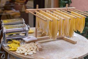 Fresh homemade italian pasta