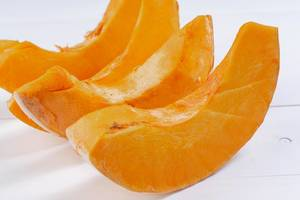 Fresh Raw sliced Pumpkin (Flip 2019)
