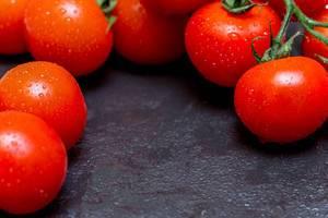Fresh red tomatoes  Flip 2019