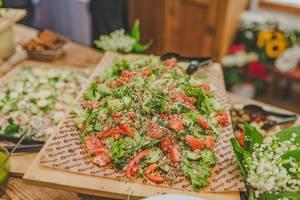 Fresh Tomato Salad With Seeds (Flip 2019)