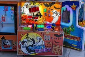 Fright night whack-a-mole machine