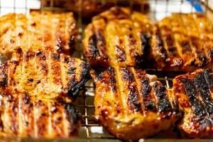 Frisch gegrilltes Fleisch