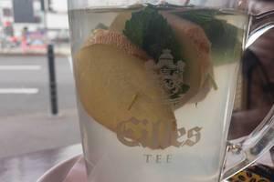 Frischer Ingwer-Minz-Tee