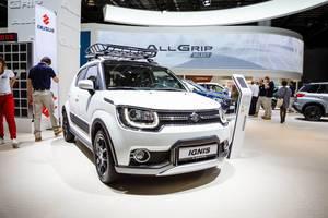 Frontansicht vom Suzuki Ignis bei der IAA 2017 in Frankfurt am Main