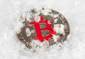 Frozen Bitcoin