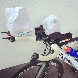 Frühstück ist da. #triathlon #canyon #sports #cycling #bike #instapic #happy #instarunner #trichallenge #im703 #kraichgau #ironman