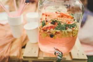 Fruit Lemonade In A Glass Jug (Flip 2019)
