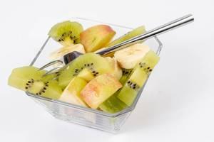 Fruit salad with Apple Banana and Kiwi (Flip 2019)