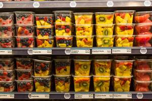 Fruits in Whole Foods Market New York