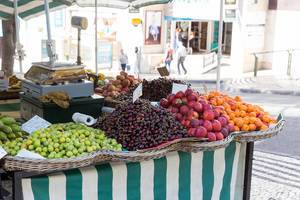 Fruits on the strees in Funchal