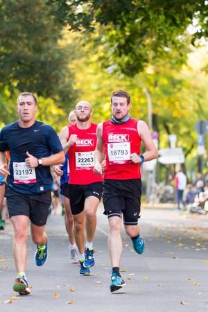 Fulland Florian, Schönle Sebastian, Epple Fabian - Köln Marathon 2017