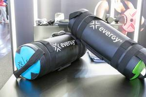 Functional fitness bag by Energy Fitness presented at Fibo fitness trade show
