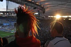 Fußball-Fans im Maracanã-Stadion - Fußball-WM, Brasilien
