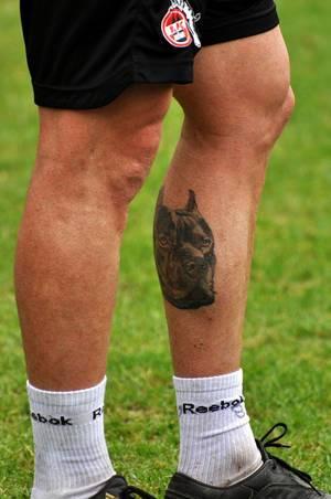 Fußballer-Tattoo von Petit