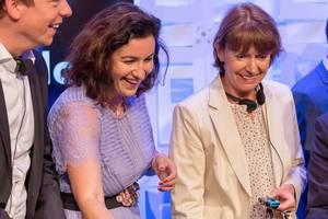 Gaming macht auch Politikern Spaß. Hans, Bär und Reker auf der Gamescom 2018