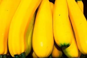 Gelbe Zucchini