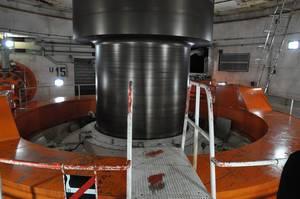Generator in Itaipu-Staudamm