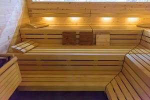 Geräumige Sauna - FIBO Köln 2018