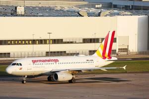 Germanwings Airbus A319, D-AGWN am Flughafen Köln/Bonn (CGN)