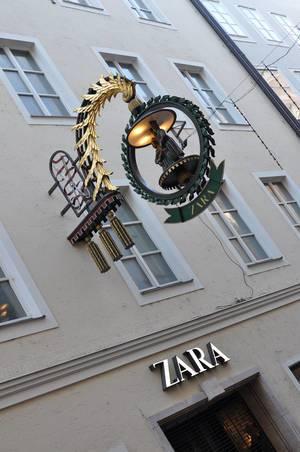 Getreidegasse Salzburg: Zara