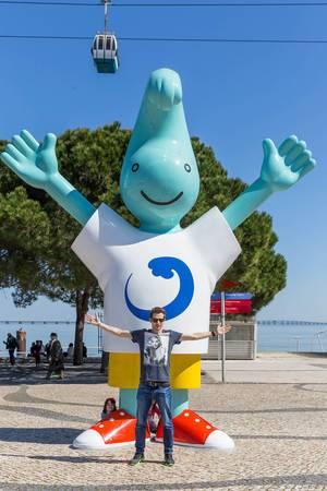 Gil - das Maskottchen der Expo 98