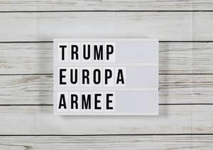"""Gipfel in Paris: Trump nennt Macrons Vorschlag einer Europa-Armee """"beleidigend"""""""