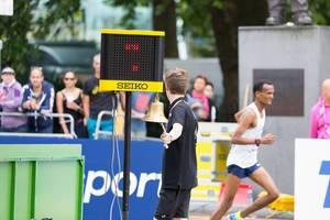 Glockenläuter (Marathon Finale) bei den IAAF Leichtathletik-Weltmeisterschaften 2017 in London