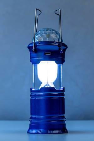 Glowing lantern on a dark background (Flip 2020)