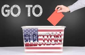Go to election concept