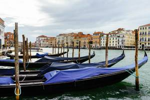 Gondolas parking