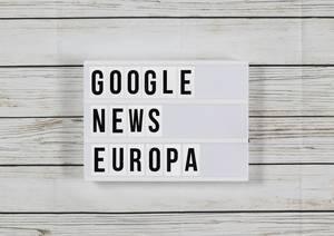 Google droht mit Ende für Google News wegen Plänen für Leistungsschutzrecht