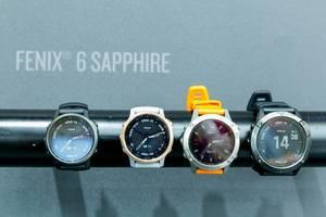 GPS-Multisport-Smartwatch: Garmin Fenix 6 Sapphire Armbanduhr