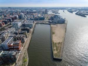 Grasbrookhafen und Strandhafen in Hamburg