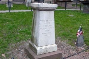 Grave of Paul Revere