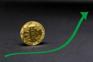 Green Bitcoin Chart